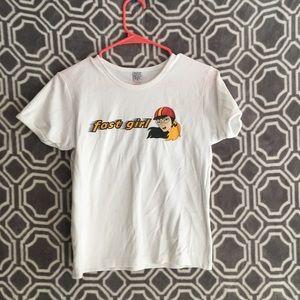 Vintage Fast Girl t-shirt